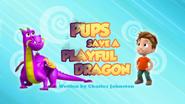 Pups Save a Playful Dragon (HQ)