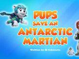 Pups Save an Antarctic Martian
