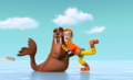 PAW Patrol Cap'n Turbot the Captain and Wally the Walrus Winter