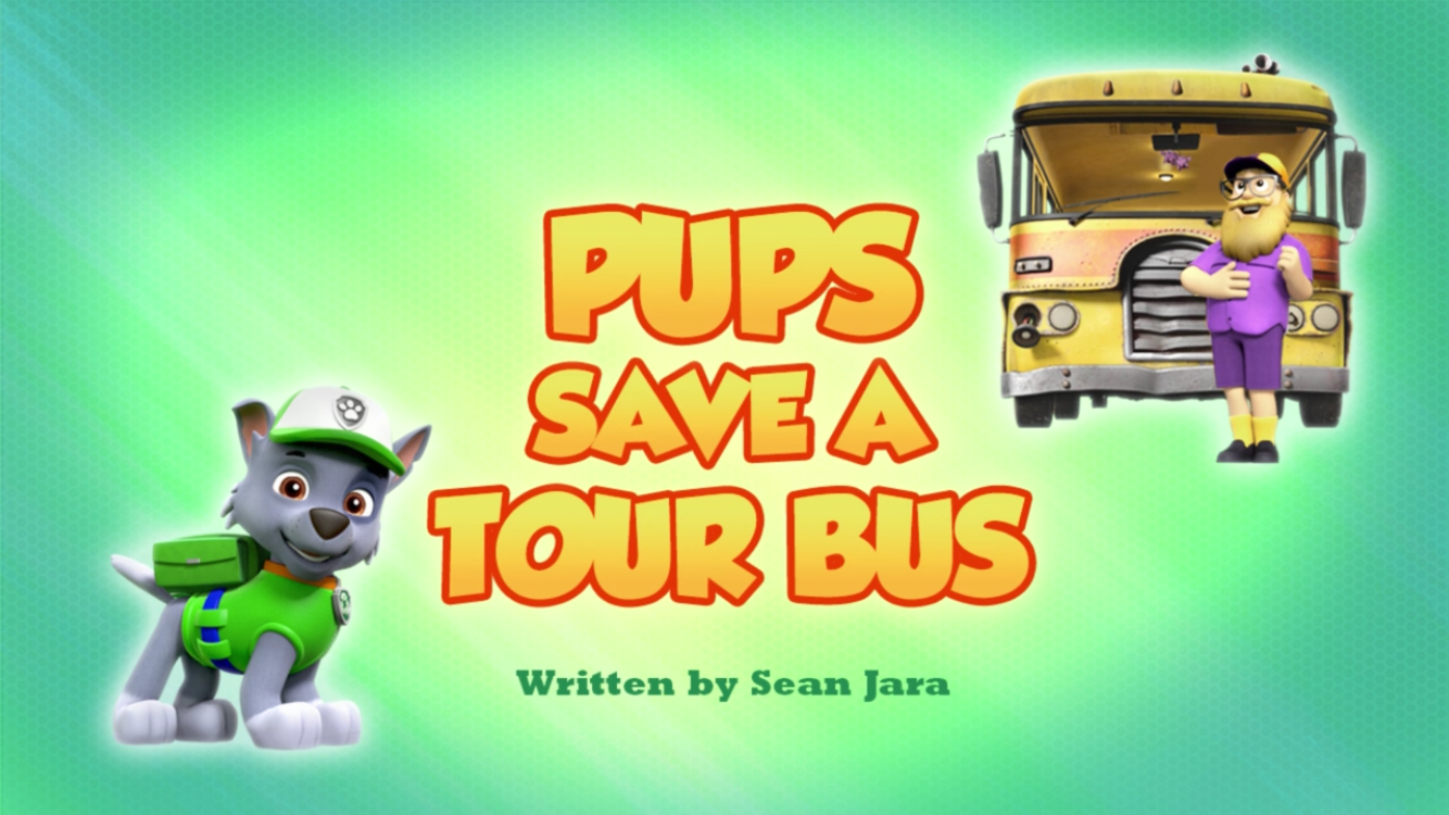 Pups Save a Tour Bus