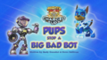 Mighty Pups, Charged Up- Pups Stop a Big Bad Bot