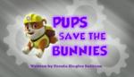 Pups Save the Bunnies