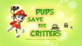 Pups Save the Critters (HQ)