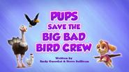 Pups Save the Big Bad Bird Crew (HQ)