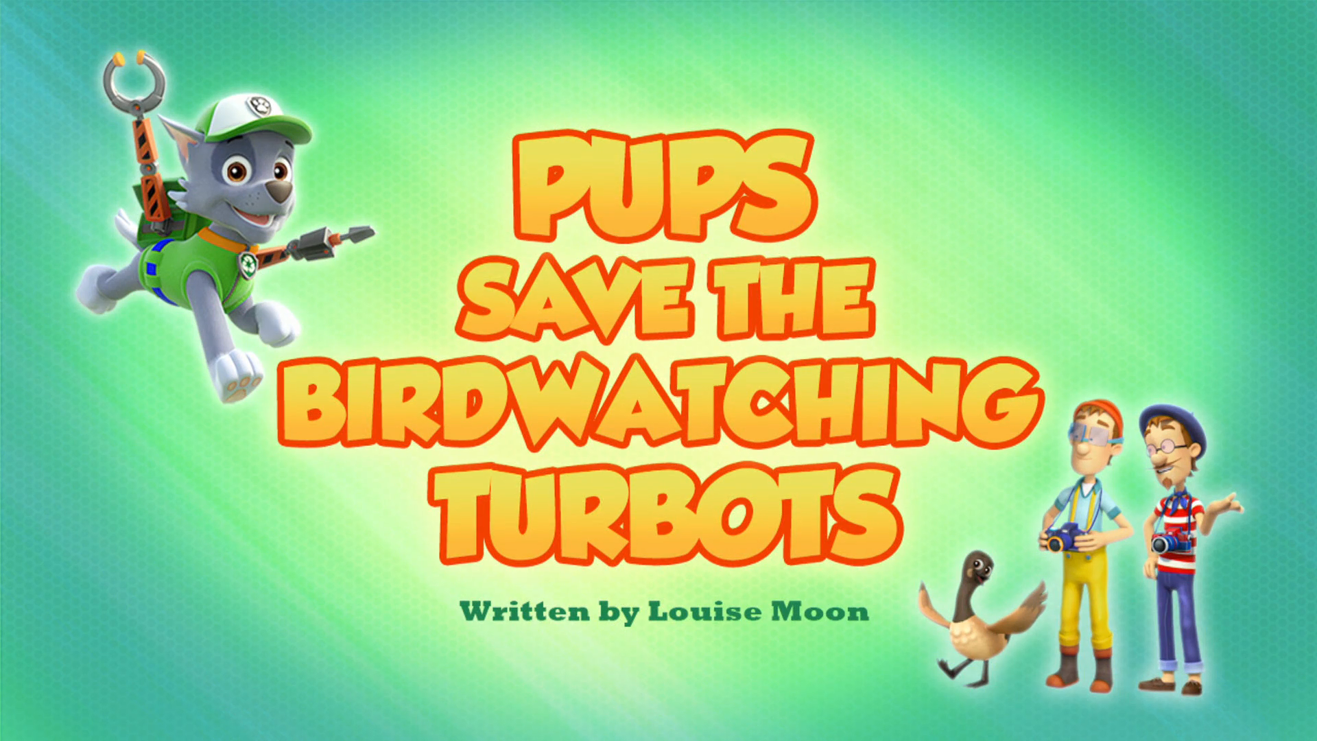 Pups Save the Birdwatching Turbots