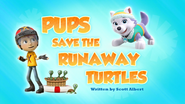 Pups Save the Runaway Turtles (HQ)
