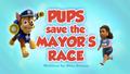Pups Save the Mayor's Race