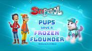 Sea Patrol Pups Save a Frozen Flounder (HQ)