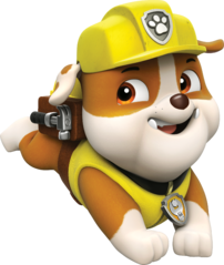 PAW Patrol Rubble Running.png