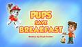 Pups Save Breakfast (HQ)