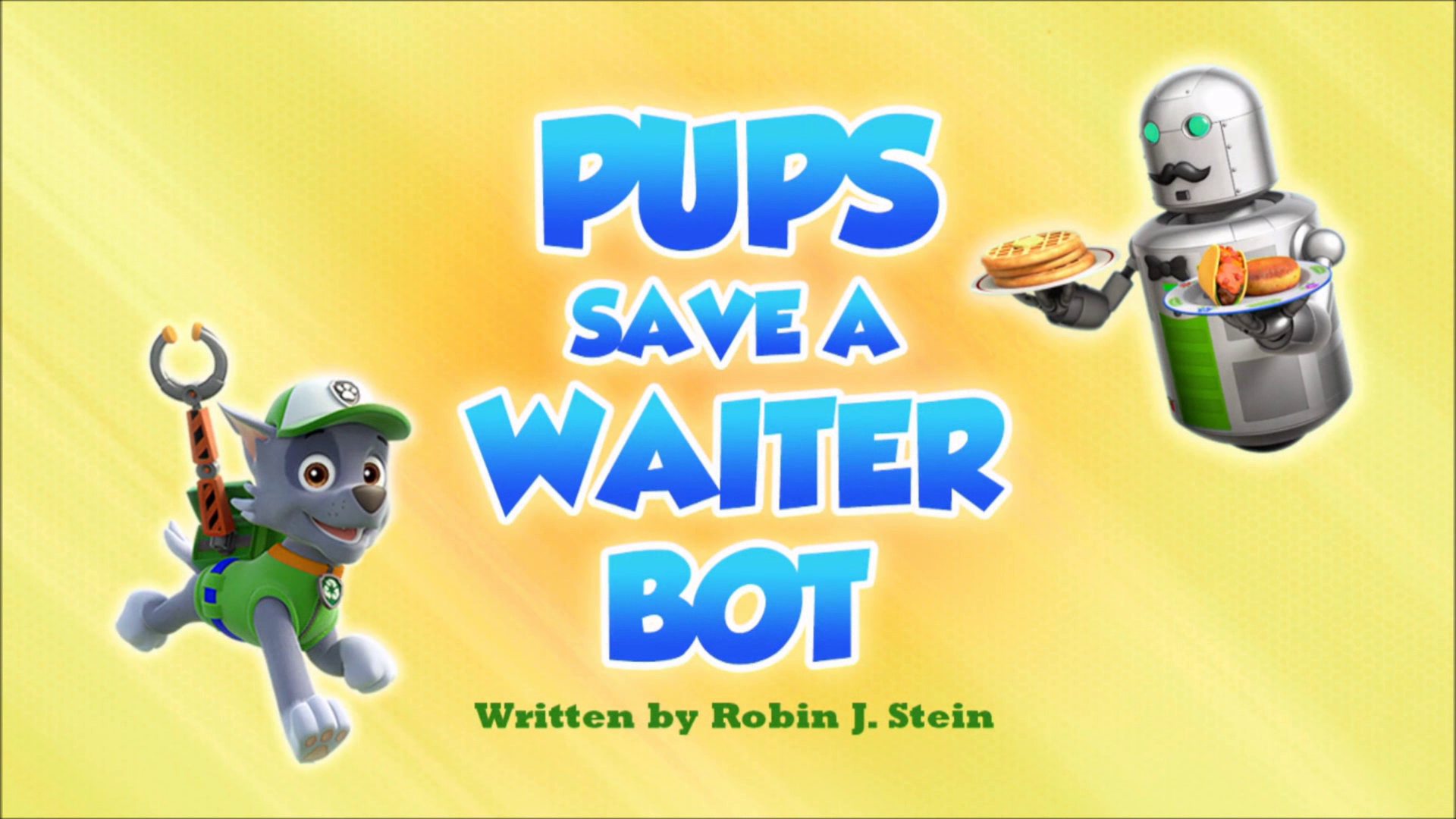 Pups Save a Waiter Bot