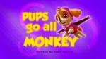 Pups Go All Monkey (HD)