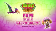 Dino Rescue- Pups Save a Pterodactyl (HQ)