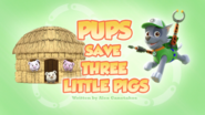 Pups Save Three Little Pigs (HQ)