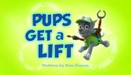 Pups Get a Lift