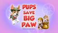 Pups Save Big Paw (HQ)