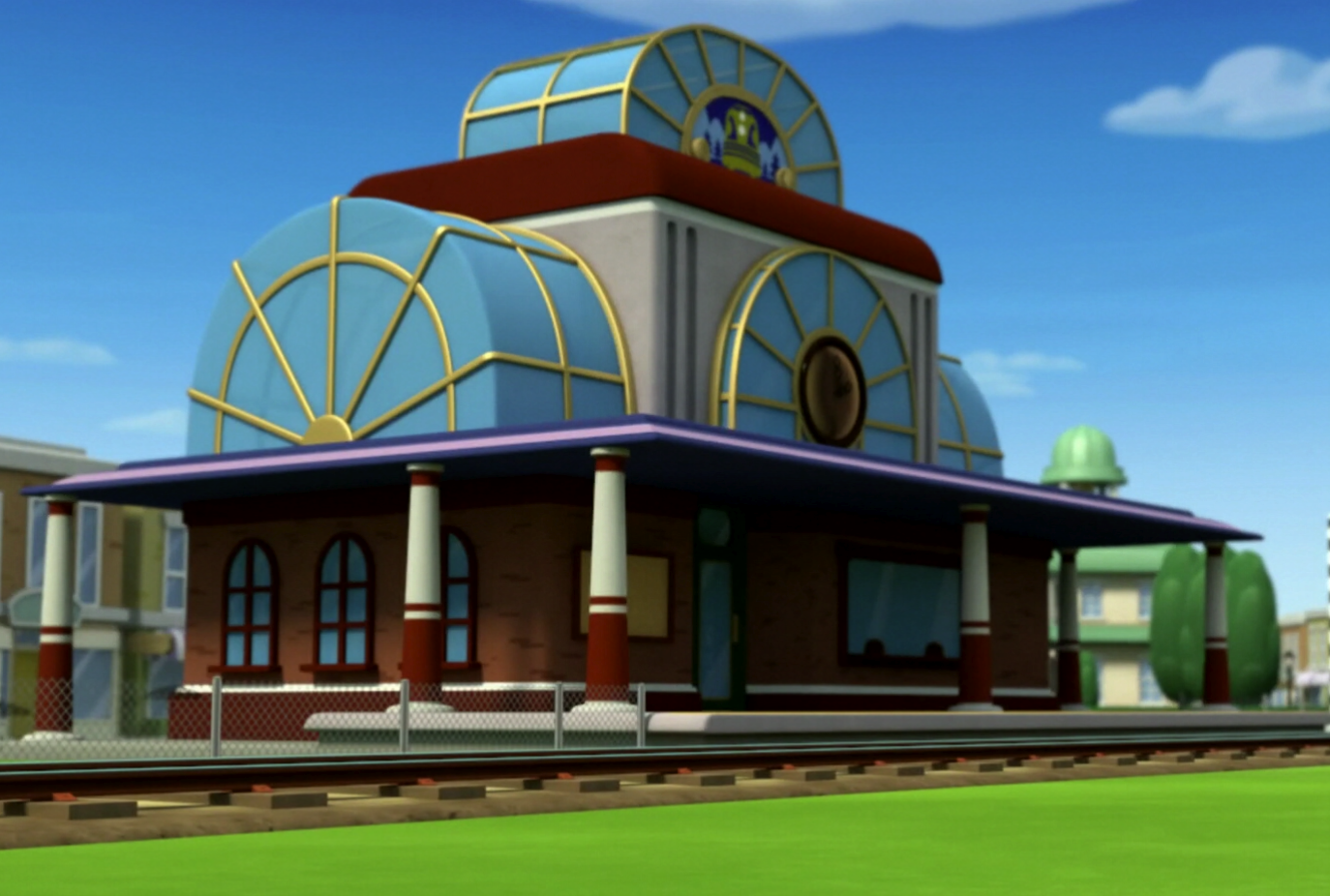 Train station/Gallery
