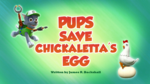 Pups Save Chickaletta's Egg (HQ)