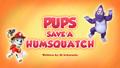 Pups Save a Humsquatch (HQ)