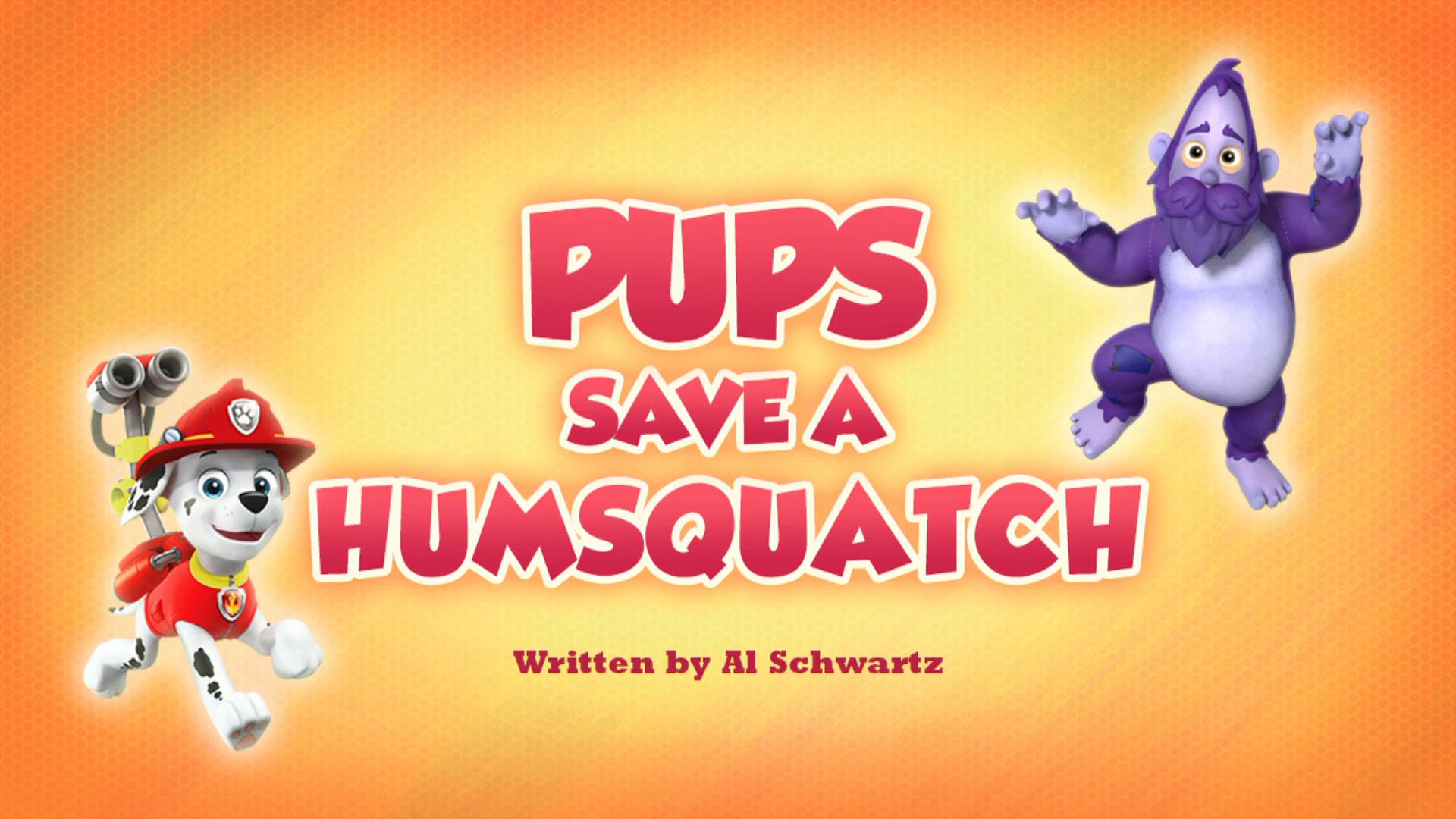 Pups Save a Humsquatch