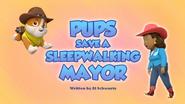 Pups Save a Sleepwalking Mayor (HQ)