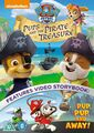 PAW Patrol Pups and the Pirate Treasure DVD UK