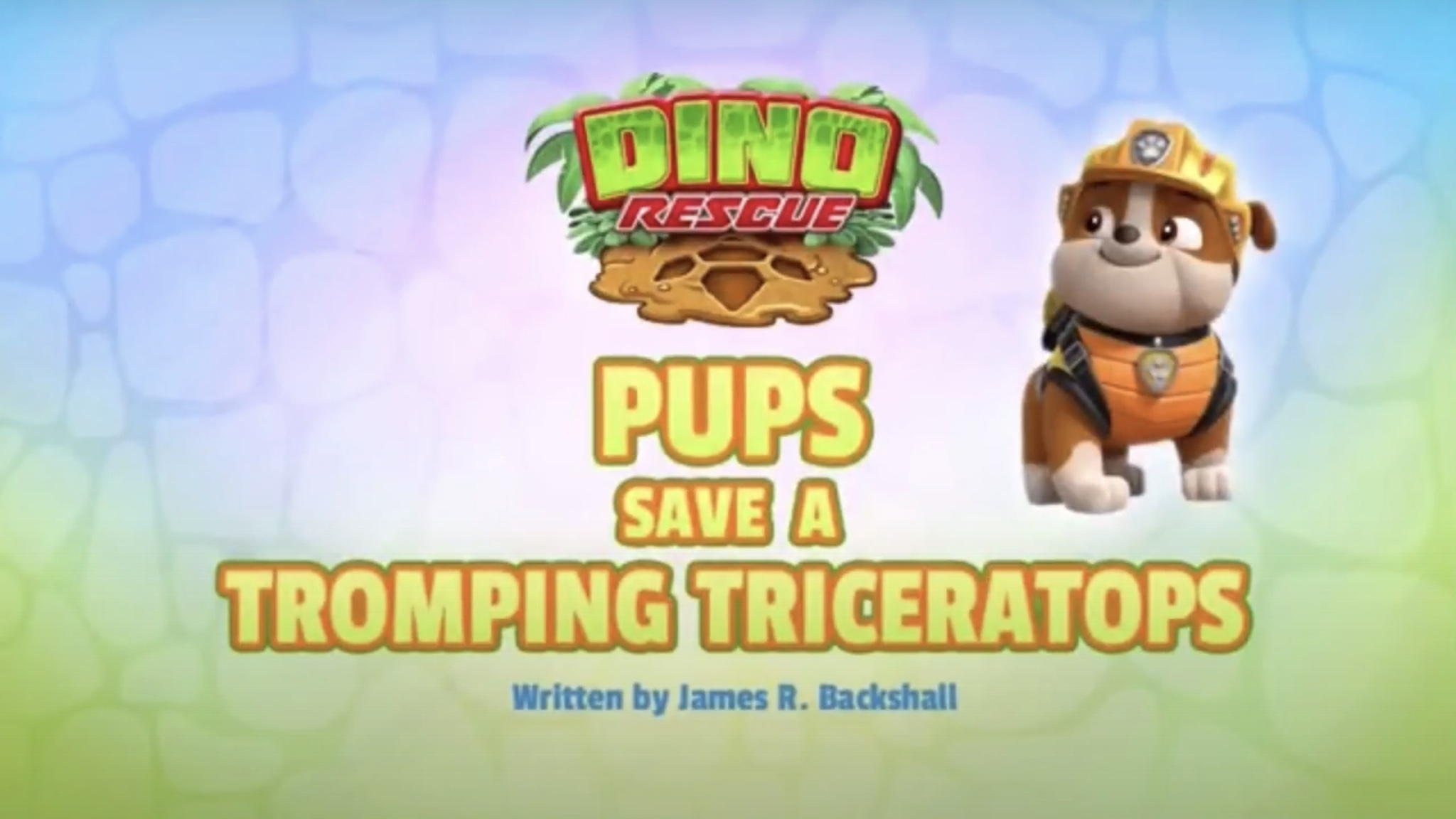 PAW Patrol Original 5s: Dino Rescue: Pups Save a Tromping Triceratops