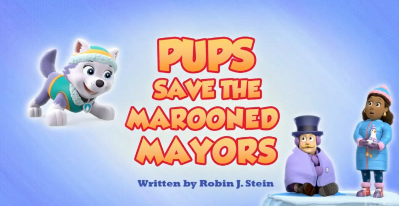Pups Save the Marooned Mayors
