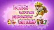 Pups Save the Runaway Kitties (HQ)