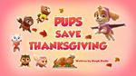 Pups Save Thanksgiving (HQ)