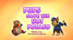 Pups Save the Hot Potato
