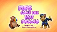 Pups Save the Hot Potato