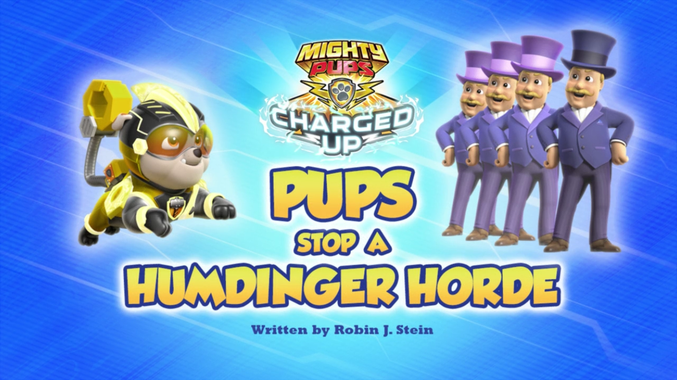 Mighty Pups, Charged Up: Pups Stop a Humdinger Horde