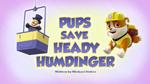 Pups Save Heady Humdinger (HQ)