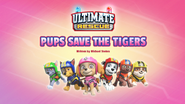 Ultimate Rescue Pups Save the Tigers (HQ)