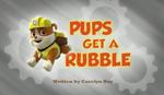 Pups Get a Rubble