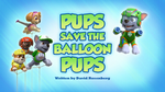 Pups Save the Balloon Pups (HQ)