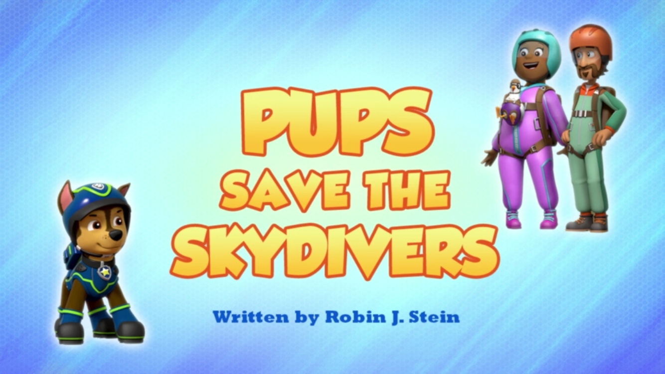 Pups Save the Skydivers