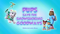 Pups Save the Snowshoeing Goodway (HQ)