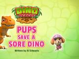 Dino Rescue: Pups Save a Sore Dino