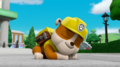 Rubble sleeping by lah2000 de74t3o
