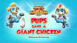 Mighty Pups, Super Paws- Pups Save a Giant Chicken (HQ)