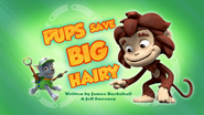 Pups Save Big Hairy (HQ)