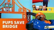 PAW Patrol Pups Save a Bridge Toy Episode PAW Patrol Official & Friends