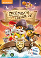 PAW Patrol Pups and the Pirate Treasure DVD Nordic