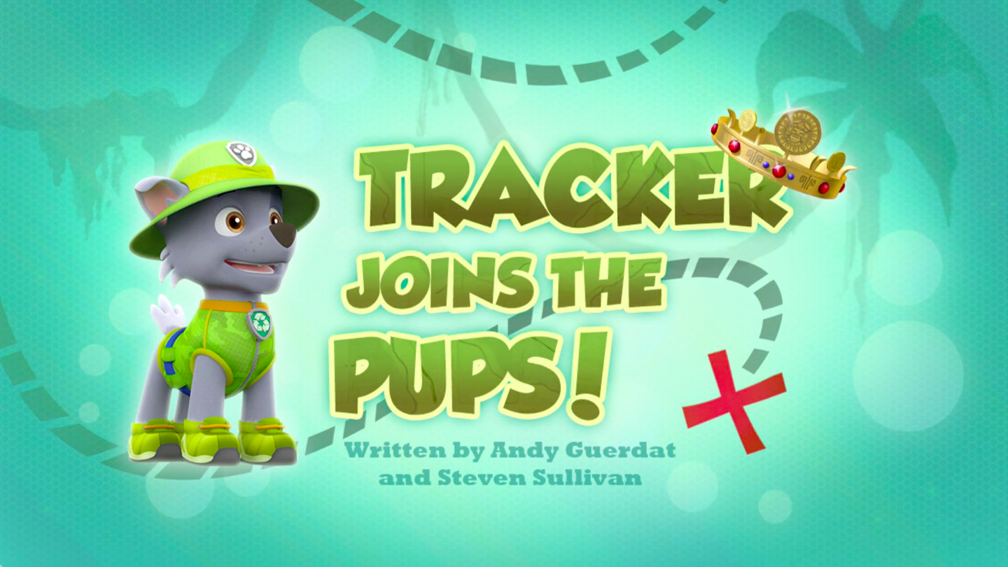 Tracker Joins the Pups!