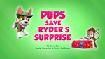 Pups Save Ryder's Surprise (HQ)