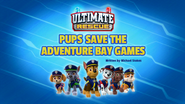 Pups Save the Adventure Bay Games (HQ)