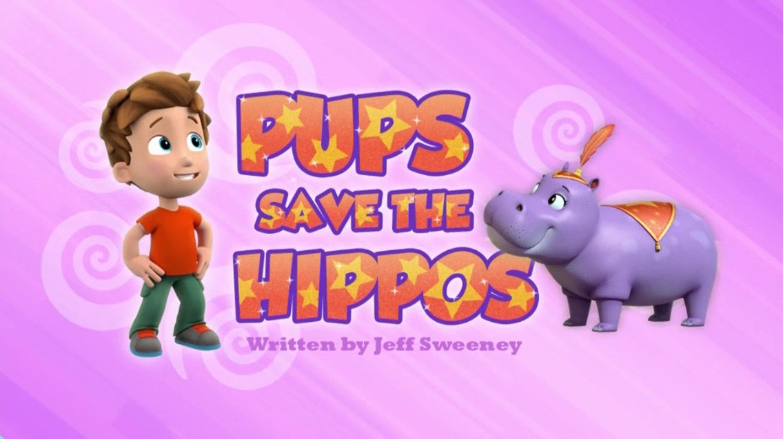 Pups Save the Hippos