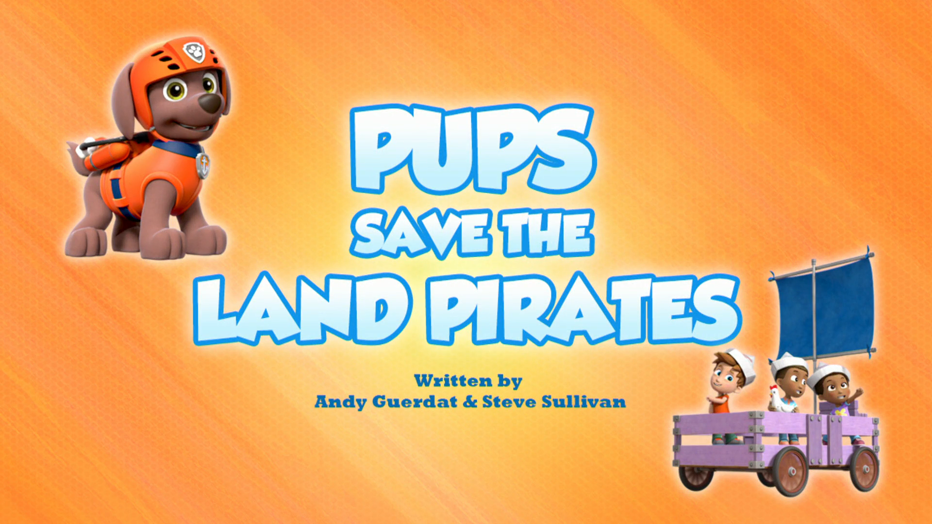 Pups Save the Land Pirates